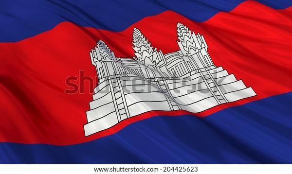 Flag of Cambodia.