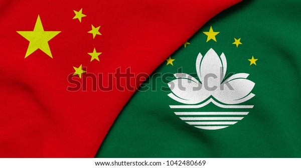 Flag of China and Macao