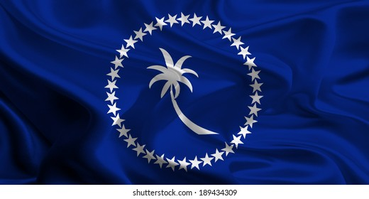 Flag of Chuuk State, Micronesia