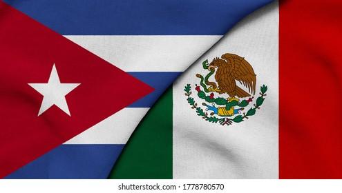 Cuba, que linda es cuba... Flag-cuba-mexico-3d-illustration-260nw-1778780570