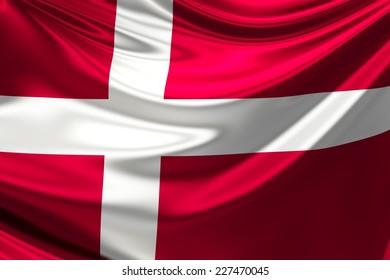 Flag of Denmark.
