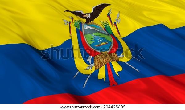 Flag of Ecuador.
