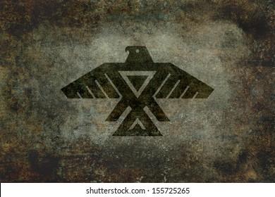 Flag and Emblem of the Anishinaabe people