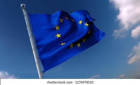 Flag EU union
