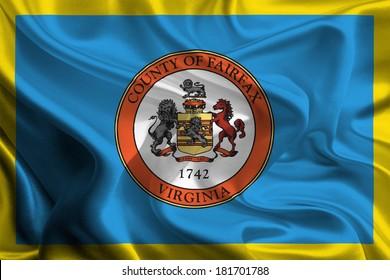 Flag of Fairfax County of the USA