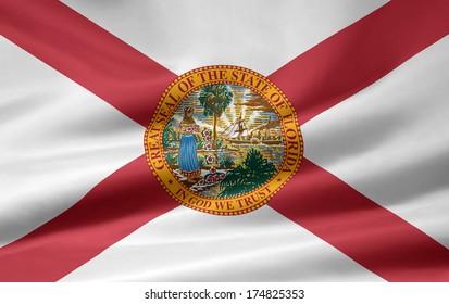 Flag of Florida - USA