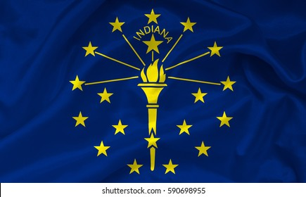 Flag of Indiana state (USA)