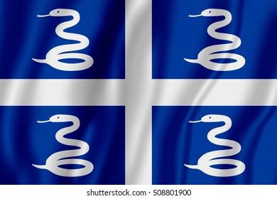 Flag of Martinique