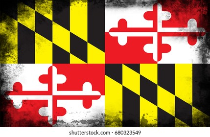 The Flag Of Maryland