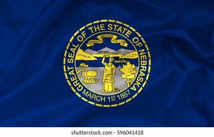 Flag of Nebraska state (USA)