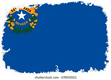 The Flag Of Nevada