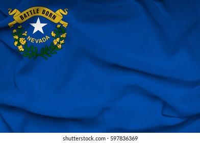 Flag of Nevada state (USA)
