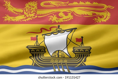 Flag of New Brunswick - Canada