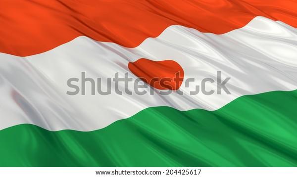 Flag of Niger.