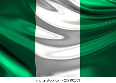 Flag of Nigeria.