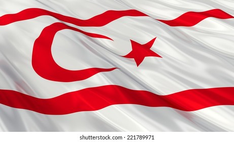 Flag of Northern Cyprus.