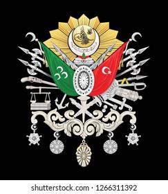 flag ottoman empire
