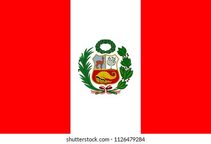 Flag of Peru image