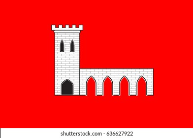 Flag of Pontarlier is a commune and one of the two sub-prefectures of the Doubs department in the Bourgogne-Franche-Comte region in eastern France