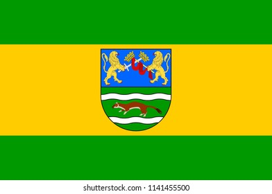 Flag of Pozega-Slavonia County is a Croatian county in western Slavonia.