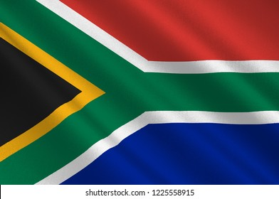 43549bb1e8e Flag of Republic of South Africa (RSA) is the southernmost country in Africa .