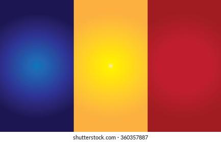 Flag of Romania (Rumania or Roumania)