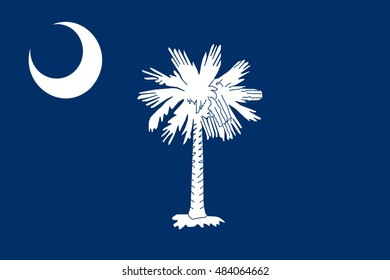 Flag of South Carolina is a state of the United States