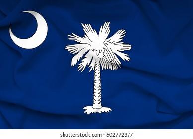 Flag of South Carolina state (USA)