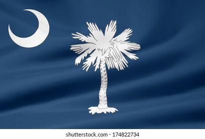 Flag of South Carolina - USA
