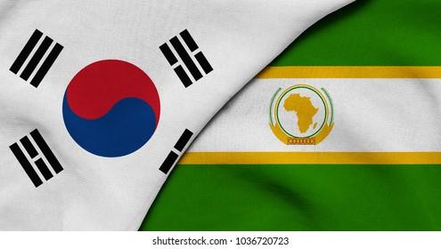 Royalty Free South Korea Flag Wallpaper Images Stock Photos