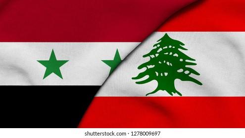 Flag of Syria and Lebanon