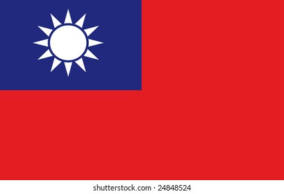 flag of taiwan original version