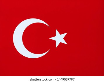 Flag of Turkey national country symbol