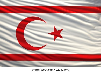 flag turkish republic  of northern cyprus