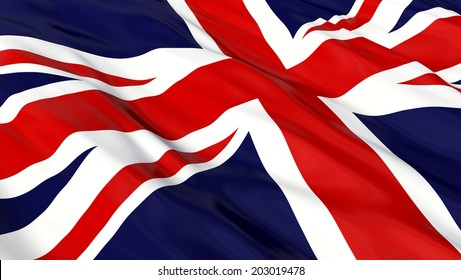 Flag of the UK.