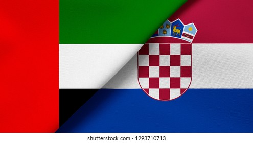 Flag of United Arab Emirates and Croatia