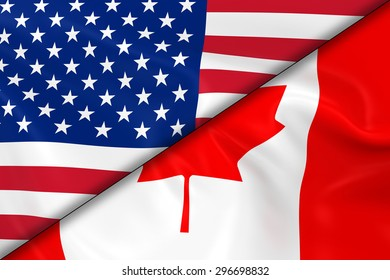 canada usa flag images stock photos vectors shutterstock