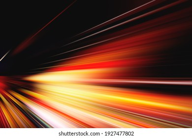 FLASH LIGHT LINES, ABSTRACT SPEED MOTION, TRANSPORTATION BACKGROUND