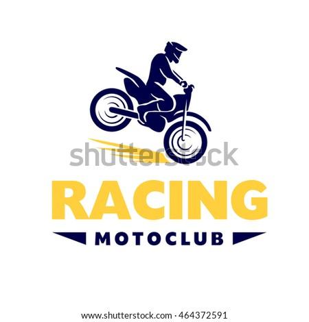 Motofree flat moto free style racer icon stock illustration 464372591