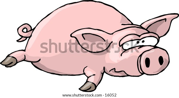 Flat Pig I