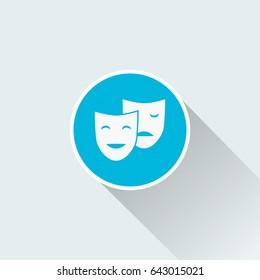 flat theatre icon