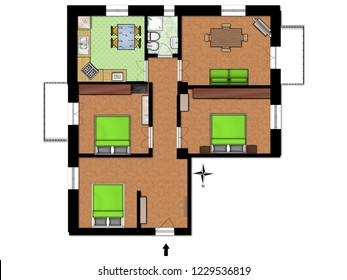 Floor plans for real estate