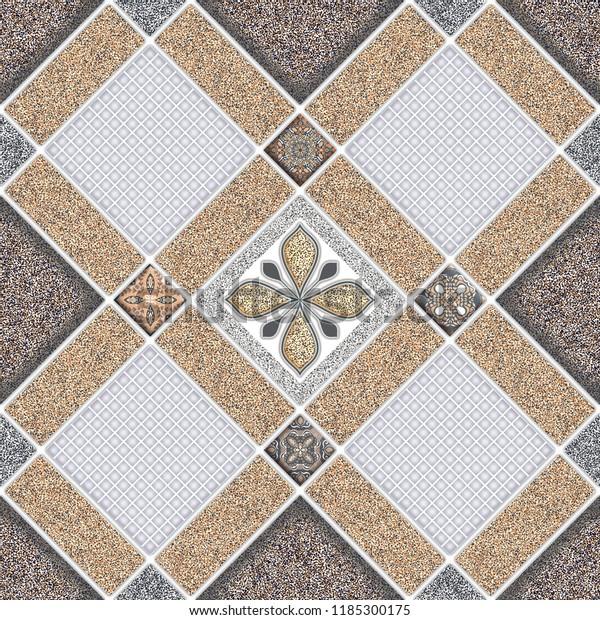 Floor Wall Tiles Design Texture Background Stock