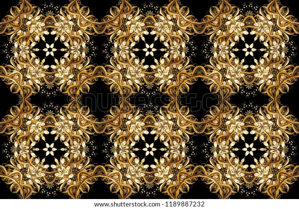 Floral Classic Texture Royal Retro On Stock Illustration