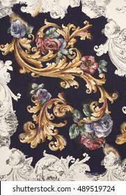 floral hand made design