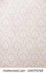 Floral ornament on background. Contemporary pattern. Wallpaper pattern