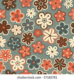 Floral seamless pattern. Vector version is in my portfolio.