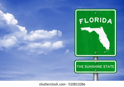 Florida - Florida Highway sign
