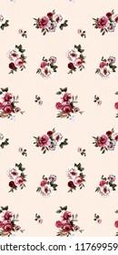 Flower background pattern