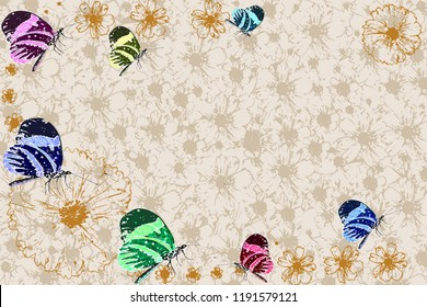 flower texture best wishes greeting card background concept of love, gift, event, occasion, celebration, wedding, birthday,